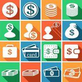 Euro sign, money, finance, banking — Vector de stock
