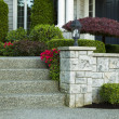 Front Yard Steps to Home — Stock Photo #10545903