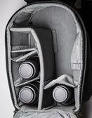 Large Travel Camera Bag — Stock Photo