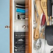Постер, плакат: Organized Kitchen Drawers