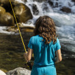 Fishing the Rapids — Stock Photo #12296080