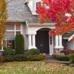 Autumn Home — Stock Photo