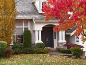 Autumn Home — Stock Photo