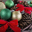 Seasonal Holiday Basket — Foto de Stock