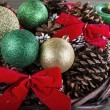 Seasonal Holiday Basket — Stockfoto