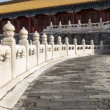 Stone Walkway leading to Temple — Stock Photo