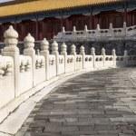 Stone Walkway leading to Temple — Stock Photo