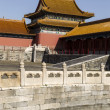 Forbidden City Temple and Water — Stock Photo