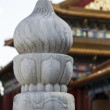 Crafted Pillar in Forbidden City of China — Stock Photo #14556547