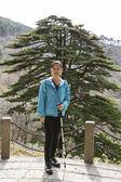 Asian Women Hiker — Stock Photo