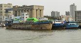 Viejo carguero chino — Foto de Stock