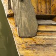 Weathered Wooden Paddle — Stock Photo #14805453
