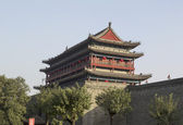 Bell Tower and Wall — 图库照片