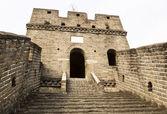 Amplia escalera en gran muralla — Foto de Stock