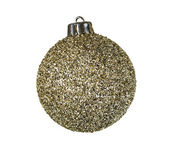 Golden Holiday Ornament — Stock Photo