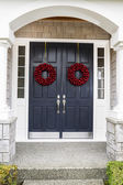 Holiday Home Door — Stock Photo