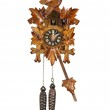 Traditional Cuckoo Clock Sounding on the Hour — Stock Photo