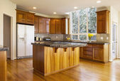 Large Daylight Kitchen — Stock Photo