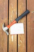 Deck Maintenance — Stock Photo