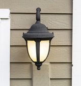 Outdoor House Light — Stock Photo