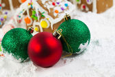 Christmas Ornaments for the Season — Stock Photo