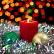 Candle for the Holidays  — Foto de Stock