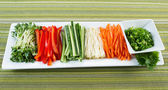 Fresh Vegetable Ingredients for Sushi — Stock Photo