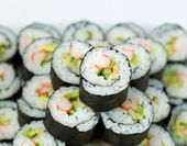 Closeup of Fresh California Hand Roll — Stockfoto