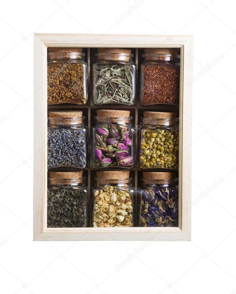 decoracin de plantas y flores secas u imagen de stock