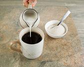Coffee and Cream  — Stock Photo
