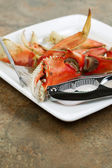 Cooked Crab ready to eat  — Stock Photo
