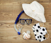 Beach Attire for Summer Fun  — Stock Photo