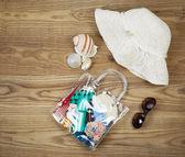 Summer Outdoor Kit  — Stock Photo