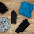 Постер, плакат: Colder Weather Clothing for Outdoors