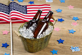 Party Time for the fourth of July  — Stock Photo