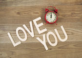 Love is timeless  — Stock Photo