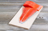 Fresh Salmon fillet ready to cook  — Stock Photo