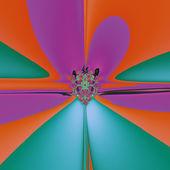 Magic Flower — 图库照片