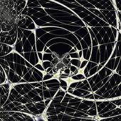 Magic Spiderweb — Stock Photo