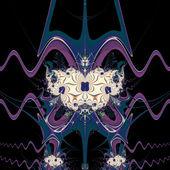 Purple Space — Stok fotoğraf
