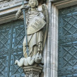 Cologne Cathedral Statue - Stockfoto