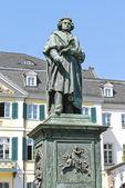Pomnik ludwiga van beethovena w bonn — Zdjęcie stockowe