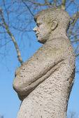 Statue of John F. Kennedy in Bonn — Stock Photo