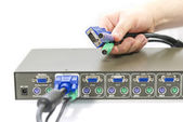 KVM Switch — Stock Photo
