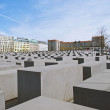 Stock Photo: Memorial to Murdered Jews of Europe