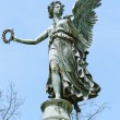 Statue od Angel in Charlottenburg Palace Garden — Stock Photo