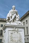 Statue of Alexander von Humboldt in Berlin — Stock Photo