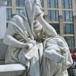 Allegory of Philosophy of Schiller Monument in Berlin — Stock Photo