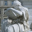 Allegory of History of Schiller Monument in Berlin — Stock Photo