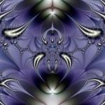 Purple Ornament — Stock Photo